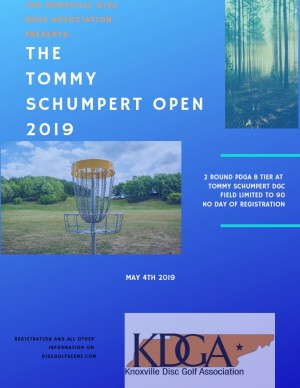 The 2019 Tommy Schumpert Open Driven by Innova graphic