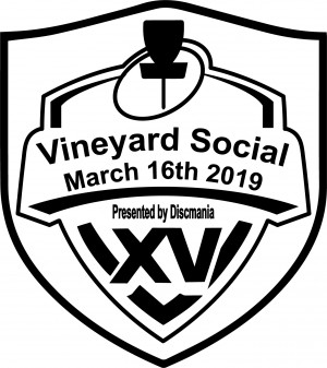 Vineyard Social 15 presented by Discmania ,The Lazy Frog and Offshore Ale graphic