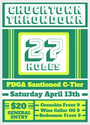 Chucktown Throwdown graphic