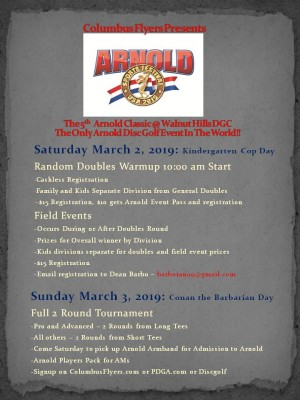 5th Arnold Classic Tournament graphic