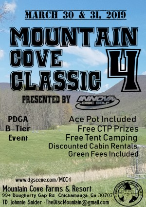 Mountain Cove Classic 4 Presented by Innova, GSS #2 graphic