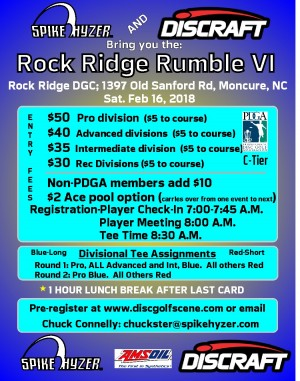 Spike Hyzer's:Rock Ridge Rumble VI graphic