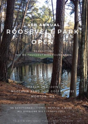 2019 Roosevelt Park Open presented by Discraft graphic