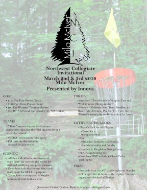 Northwest Collegiate Invitational graphic