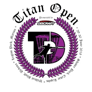 Titan Open 2019 Presented by Discraft graphic