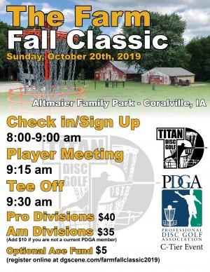 Farm Fall Classic 2019 graphic
