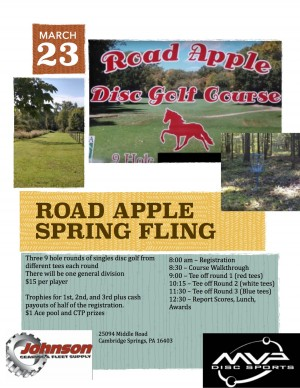 Road Apple Spring Fling graphic