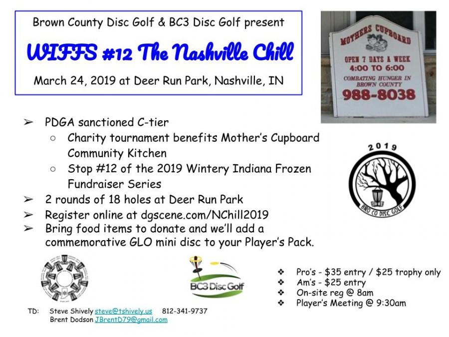 WIFFS #12 - The Nashville Chill (2019, BroCo Disc Golf