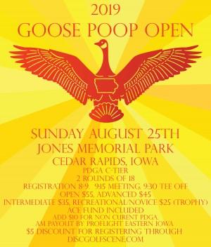 Goose Poop Open graphic