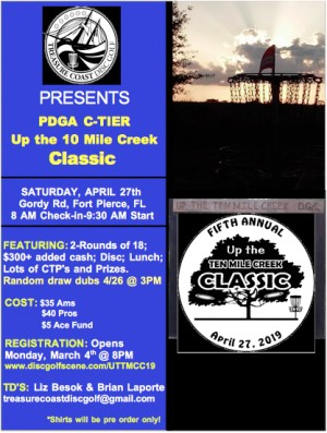The Up the 10 Mile Creek Classic graphic
