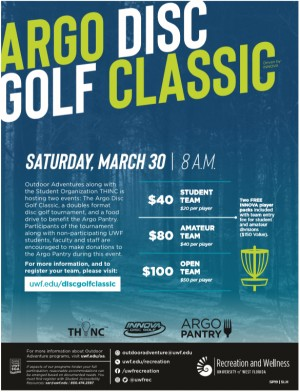 Argo Disc Golf Classic, Driven by Innova graphic
