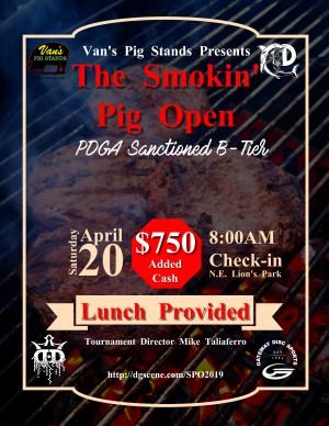 Van's Pig Stands Presents The Smokin' Pig Open graphic