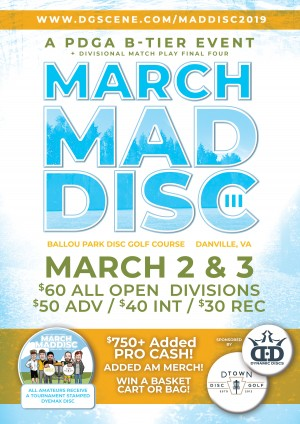 March Maddisc III graphic