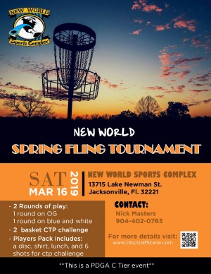 New World Spring Fling graphic