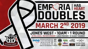Emporia Has Heart Doubles sponsored by Dynamic Discs graphic
