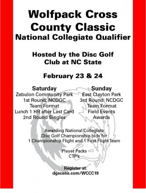 Wolfpack Cross County Classic Collegiate Tournament - Team graphic