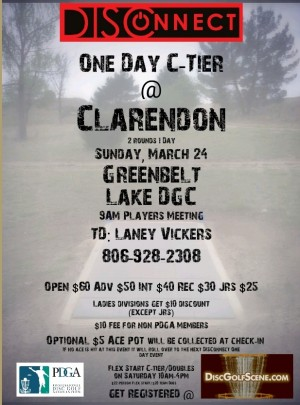 DISConnect One Day C-Tier @ Clarendon graphic