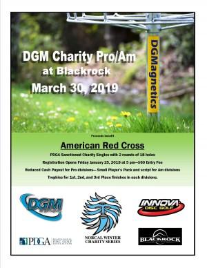 DGM Charity Pro/Am at Blackrock graphic