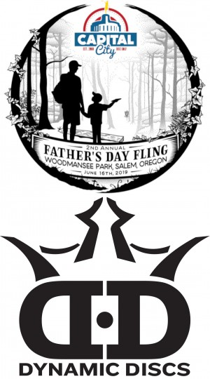 2nd Annual Father's Day Fling - Sponsored by Dynamic Discs graphic