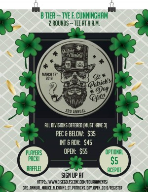 3rd Annual Malice N Chains St Patrick's Day Open graphic