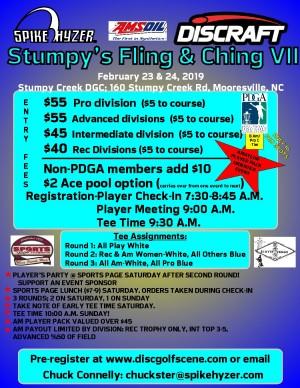 Spike Hyzer's: Stumpy's Fling & Ching VII graphic