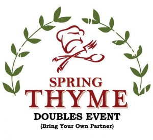 Spring Thyme Open Doubles Event graphic