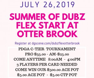 Summer of Dubs Flex Start at Otter Brook graphic