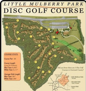 Springtime Classic At Little Mulberry Park Hosted by Bomb Squad Disc Golf graphic