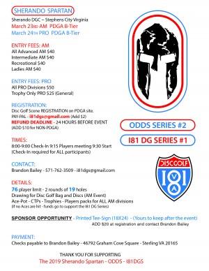 Sherando Spartan AM I81DGS#1 ODDS#2 graphic