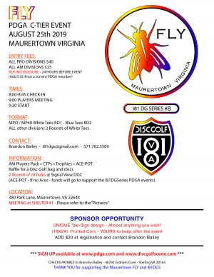 Maurertown FLY I81DGS #8 graphic