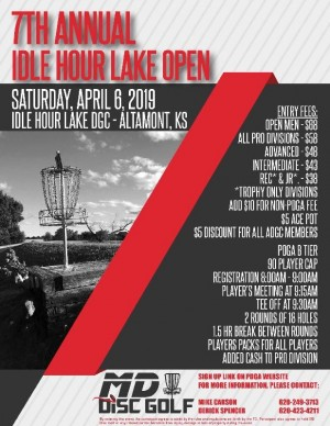 Idle Hour Open 2019 graphic
