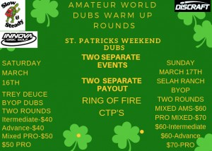 St. Patricks Weekend Dubs graphic