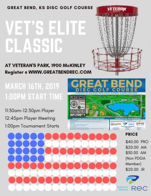 Vet's Elite Classic (Register @ www.greatbendrec.com) graphic