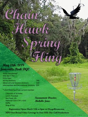 Chain Hawk Spring Fling graphic