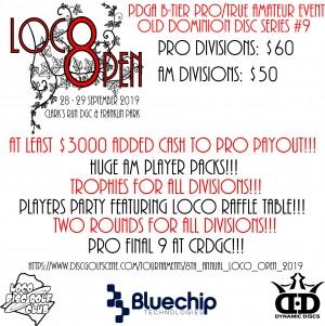8th Annual LoCo Open - ODDS #9 graphic