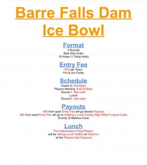 Barre Falls Dam Ice Bowl graphic