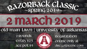 Spring 2019 Razorback Classic graphic