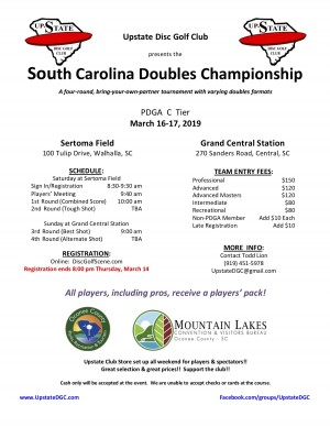 SC Doubles Championships graphic