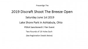 2019 Discraft Shoot the Breeze Open graphic