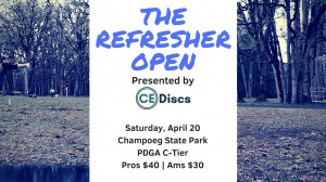 The Refresher Open Presented By CE Discs graphic