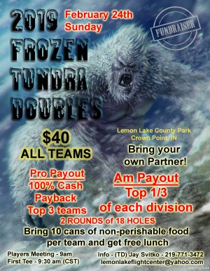 2019 Frozen Tundra Doubles graphic