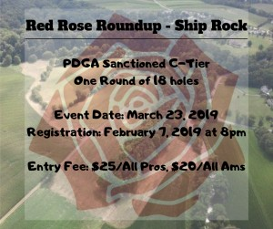 Red Rose Roundup - Ship Rock graphic