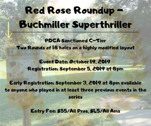 Red Rose Roundup - Buchmiller Super Thriller graphic