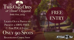 The Twin Oaks Open at Daniel Vineyards PRESENTED BY LIGHTS-OUT graphic