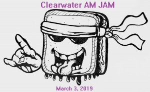 Clearwater AM JAM graphic