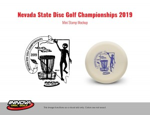 Nevada State Championships Driven by Innova graphic