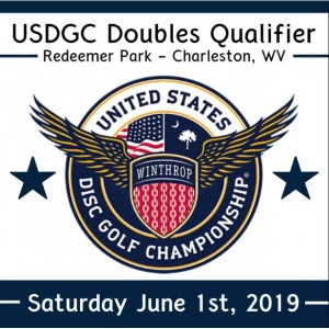 USDGC Doubles Qualifier Charleston West Virginia graphic