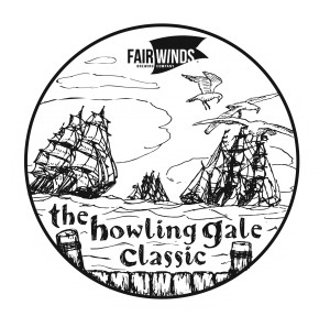 The Howling Gale Classic sponsored by Fair Winds Brewing Company - All AM except MA1 graphic