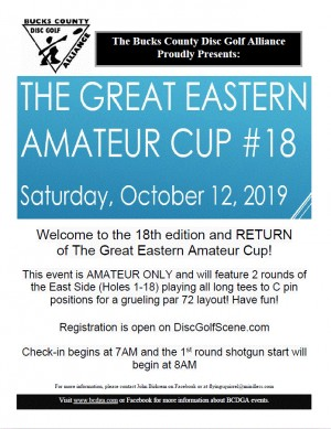 The Great Eastern Amateur Cup #18 graphic