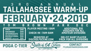 3rd Annual Tallahassee Warm Up presented by Latitude 64 graphic